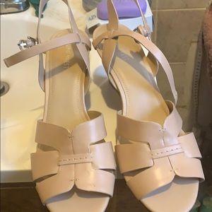Nine wedge sandals